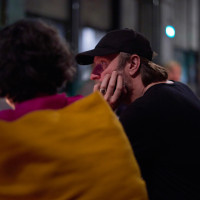 "5.10.17: Bjarne Mädel im Festivalcafé ""Die Kokerei"" ©Kandalowski/Gieseler"