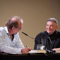 6.10.17: Klaus Fiehe und Karl Bartos ©Kandalowski/Gieseler