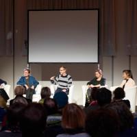 6.10.17: Lara Hampe, Peter Lünenschloß, Florian Kessler, Josefine Berkholz und Ronya Othmann ©Kandalowski/Gieseler
