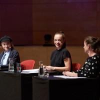 lit.RUHR 2018: Katharina, Nellie und Anna Thalbach (v.l.n.r.) auf der lit.RUHR-Gala © Palazzo