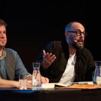 lit.RUHR 2018: Michael Kobr (l.) und Volker Klüpfel © Palazzo