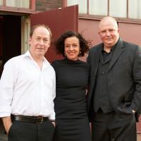 lit.RUHR 2018: Ulrich Noethen, Maria Schrader und Jörg Thadeusz © Palazzo