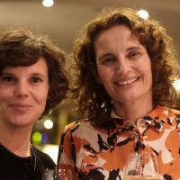 lit.RUHR 2019: Eva Schuderer (lit.RUHR) und Michaela Karl © plzzo.com/lit.RUHR