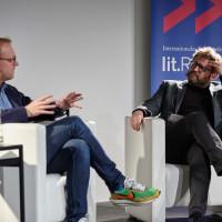 lit.RUHR 2019: Christoph Amend und Wolfram Eilenberger © plzzo.com/lit.RUHR