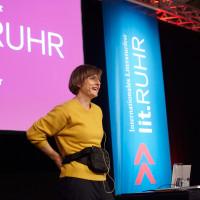lit.RUHR 2019: Kathrin Schrocke © plzzo.com/lit.RUHR
