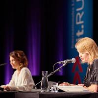 lit.RUHR 2019: Alexandra Helmig und Annette Frier  © plzzo.com/lit.RUHR