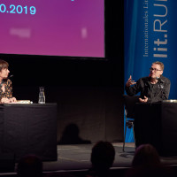 lit.RUHR 2019: Stefanie Junker und Jan Weiler © plzzo.com/lit.RUHR