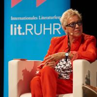 lit.RUHR 2019: Doris Dörrie © plzzo.com/lit.RUHR