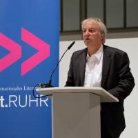 lit.RUHR 2020: Prof. Heinrich Theodor Grütter (Vorstandsmitglied Stiftung Zollverein) I Fotocredit: Ralf Juergens/ lit.RUHR