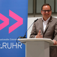 lit.RUHR 2020: Thomas Kufen (OB Essen) I Fotocredit: Ralf Juergens/ lit.RUHR