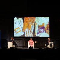lit.RUHR 2021: Volker Kutscher, Kat Menschik & Thomas Böhm ©Ast/Juergens