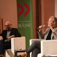 lit.RUHR 2021: Ariel Magnus & Raphaela Edelbauer ©Ast/Juergens