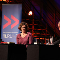 lit.RUHR 2021: Eva Menasse & Christian Schärf ©Ast/Juergens
