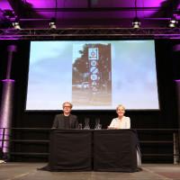 lit.RUHR 2021: Bjarne Mädel und Cordula Stratmann ©Ast/Juergens