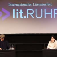 lit.RUHR 2021: Matthias Matschke und Jasmin Tabatabai ©Ast/Juergens