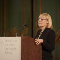 7.10.17: Prof. Dr. Dr. h. c. Ursula Gather, Kuratoriumsvorsitzende der Alfried Krupp von Bohlen und Halbach-Stiftung © KandalowskiGieseler
